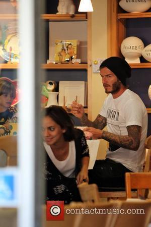 David Beckham and Pink