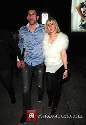 Ben Foster Celebrities leave the MEN Arena to attend David Haye's fight after party at Bijou Club Manchester, England -...