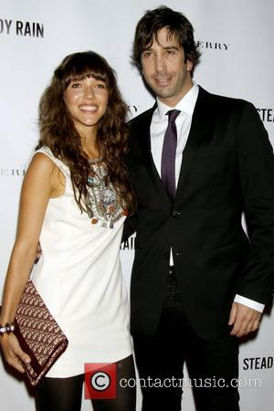 *file photos* * SCHWIMMER ENGAGED Former FRIENDS star DAVID SCHWIMMER is engaged to his photographer girlfriend ZOE BUCKMAN, his spokesperson...