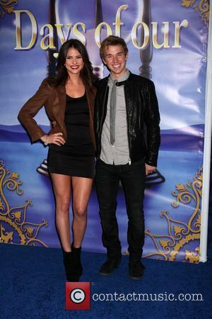 Shelley Hennig, Chandler Massey arrives at the Days of Our Lives 45th Anniversary Party at House of Blues. West Hollywood,...