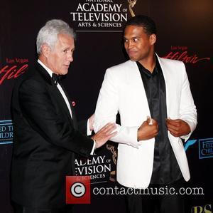 Alex Trebek and Texas Battle 2010 Daytime Emmy Awards held at Las Vegas Hilton Hotel & Casino - arrivals Las...