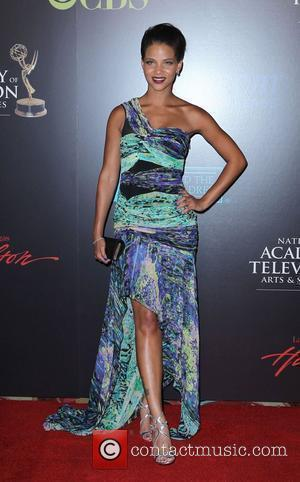 Denise Vasi 2010 Daytime Emmy Awards held at Las Vegas Hilton Hotel & Casino - arrivals Las Vegas, Nevada -...