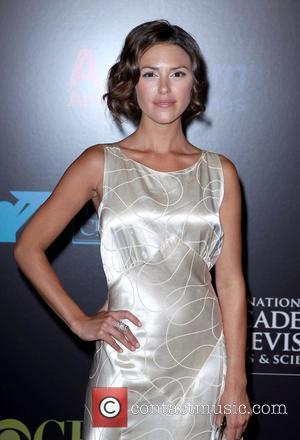 Elizabeth Hendrickson 2010 Daytime Emmy Awards held at Las Vegas Hilton Hotel & Casino - arrivals Las Vegas, Nevada -...