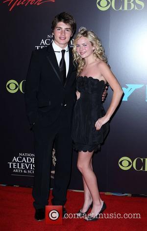 Gregg Sulkin, Britany Robertson 2010 Daytime Emmy Awards held at Las Vegas Hilton Hotel & Casino - arrivals Las Vegas,...
