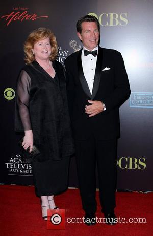 Peter Bergman and wife 2010 Daytime Emmy Awards held at Las Vegas Hilton Hotel & Casino - arrivals Las Vegas,...