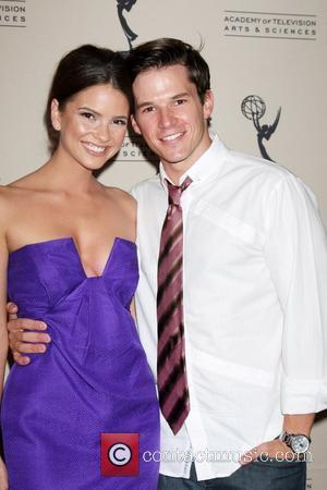 Shelley Hennig and Mark Hapka  Daytime Emmy Nominees Reception at the SLS Hotel Los Angeles, California - 24.06.10