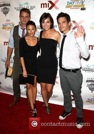 Wilson Bethel, Elizabeth Hendrickson, Emily O'Brien and Greg Rikaart 2010 Daytime Emmy Awards Official Pre-Party at Mix Lounge Mandalay Bay...