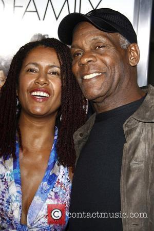 Danny Glover and His Wife