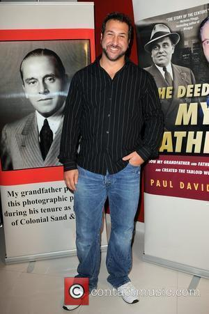 Joey Fatone Release party for Paul David Pope's book 'The Deeds of My Fathers' at Ferrari-Maserati Fort Lauderdale, Florida -...