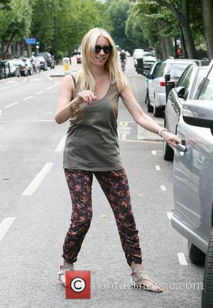 Denise van Outen  leaving her home in North London London, England - 07.08.10