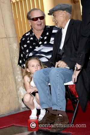 Jack Nicholson and Dennis Hopper Dennis Hopper Enduced with the 2,403rd Star on the Hollywood Walk of Fame Held On...