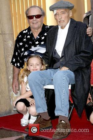 Jack Nicholson, Dennis Hopper and His Granddaughter