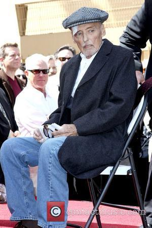 Dennis Hopper  is honored with the 2,403rd Star on the Hollywood Walk of Fame Los Angeles, California - 26.03.10