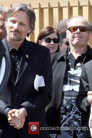Viggo Mortensen and Jack Nicholson Dennis Hopper is honored with the 2,403rd Star on the Hollywood Walk of Fame Los...