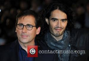 Steve Carell and Russell Brand