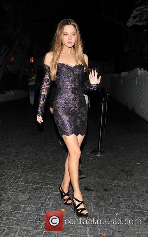 Devon Aoki leaving a club in west Hollywood Los Angeles, California - 03.04.10