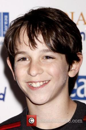 Zachary Gordon New York screening presented by FOX for 'Diary of a Wimpy Kid' at Ziegfeld Theatre New York City,...