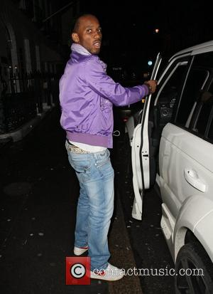 Didier Drogba collecting take away from Sumason restaurant in Mayfair. London, England - 08.01.11