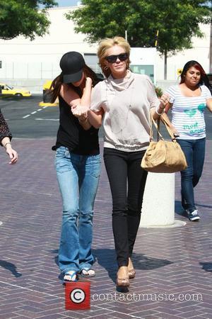 Dina, Ali Lohan and Lindsay Lohan