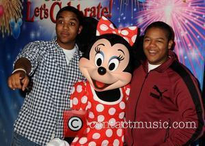 Chris Massey and Kyle Massey Disney On Ice presents 'Let's Celebrate!' held at L.A. LIVE.  Los Angeles, California -...