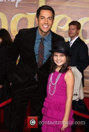 Zachary Levi and Bailee Madison