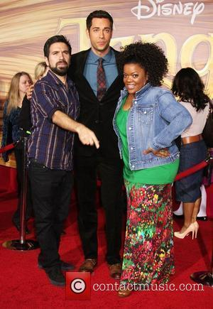 Zachary Levi and Nicole Brown