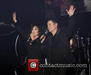 Marie Osmond and Donny Osmond Opening night of 'Donny and Marie A Broadway Christmas' at the Marquis Theatre - Curtain...