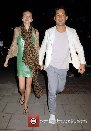 Lily Cole and Enrique Murciano