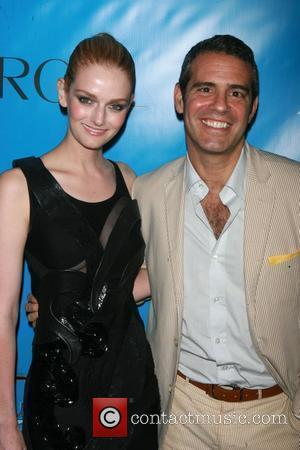 Lydia Hearst and Andy Cohen