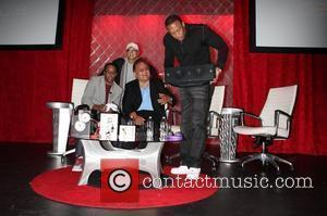 Mario Armstrong, Noel Lee, Jimmy Iovine, Dr. Dre  Beats By Dr. Dre & Monster's new product line unveiling at...