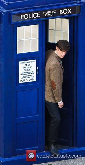 Matt Smith 'Doctor Who' filming on location in the south west of the country.