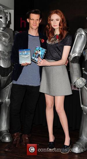 Matt Smith, Doctor Who and Karen Gillan