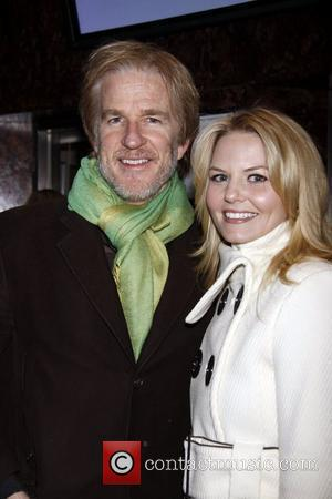 Matthew Modine poses with his 'Miracle Worker' co-star Jennifer Morrison Opening night of the Off-Broadway production of 'Dracula' at the...