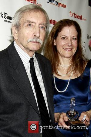 Edward Albee and Hallie Foote 55th Annual Drama Desk Awards held at LaGuardia Concert Hall at Lincoln Center - Press...