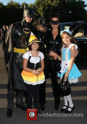 David Charvet, Brooke Burke and children 17th Annual Dream Halloween to benefit the Children Affected by Aids Foundation held at...