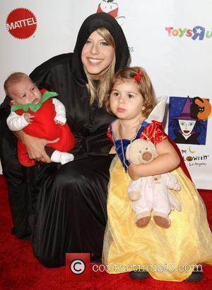 Jodie Sweetin and children 17th Annual Dream Halloween to benefit the Children Affected by Aids Foundation held at The Barker...