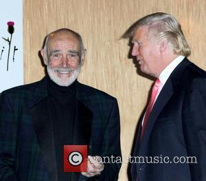 Sean Connery and Donald Trump 2010 'Dressed To Kilt' Charity Fashion Show at M2 Ultralounge - Backstage New York City,...