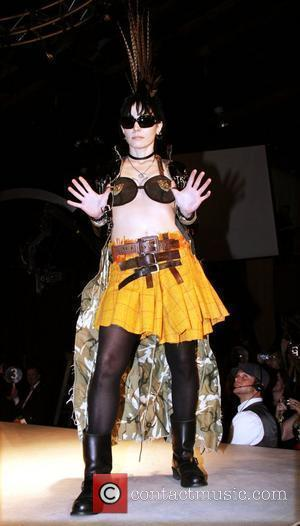 Joan Jett 2010 'Dressed To Kilt' Charity Fashion Show at M2 Ultralounge - Runway New York City, USA - 05.04.10
