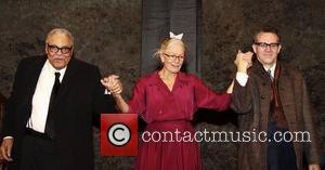 James Earl Jones, Vanessa Redgrave and Boyd Gaines  Opening night of the Broadway production of 'Driving Miss Daisy' at...