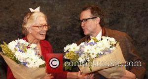 Vanessa Redgrave and Boyd Gaines Opening night of the Broadway production of 'Driving Miss Daisy' at the Golden Theatre -...