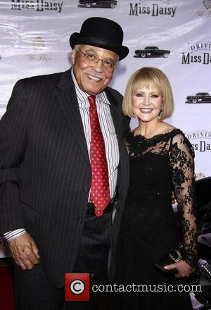 James Earl Jones and his wife Cecilia Hart Opening night after party for the Broadway production of 'Driving Miss Daisy'...