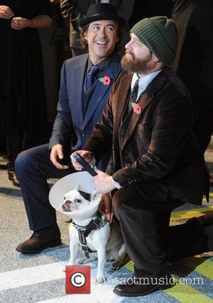 Robert Downey Jr and Zach Galifianakis