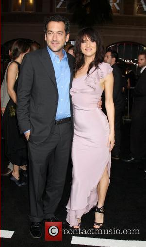 Todd Phillips and Juliette Lewis