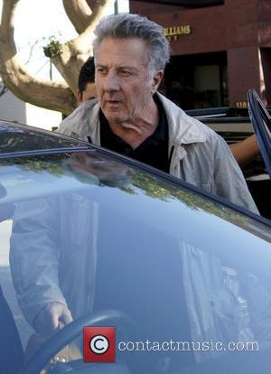 Dustin Hoffman leaves Katsuya after having lunch Los Angeles, California - 10.01.11