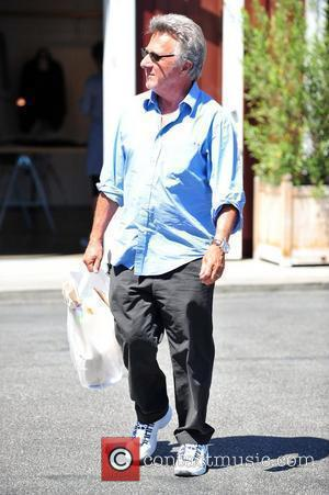Dustin Hoffman and Leaves