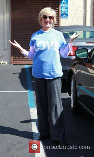 Florence Henderson outside the dance-rehearsal studio for ABC-TV's Dancing with the Stars. Los Angeles, California - 23.09.10