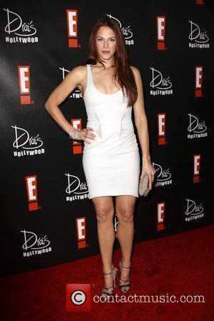 Amanda Righetti E! Oscar Viewing and After Party held At Drai's in The W Hotel Hollywood, California - 07.03.10