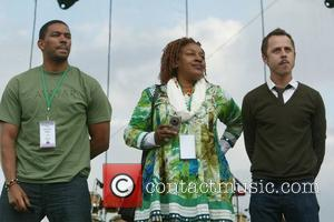 Laz Alonso, C. C. H. Pounder and Giovanni Ribisi