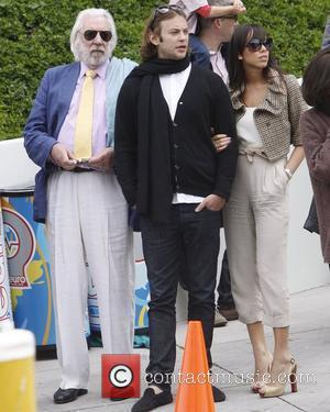 Donald Sutherland at an Easter party in Malibu Malibu, California - 04.04.10