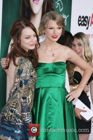 Emma Stone and Taylor Swift